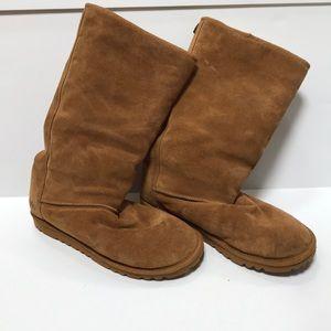 Simple Sheepskin Boots - 9